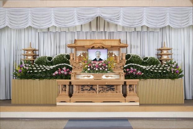 事例3 親族20名様・参列者150名様の一般葬
